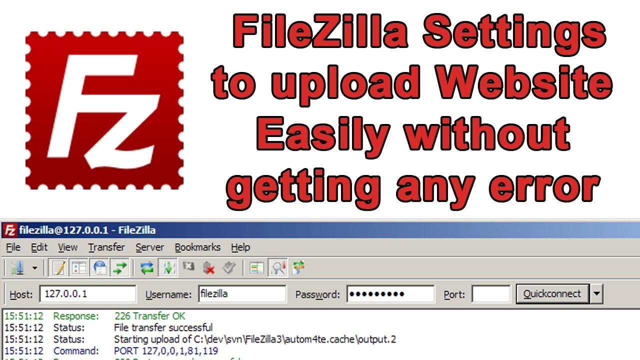 How to fix FileZilla Error The data connection could not be established  ETIMEDOUT