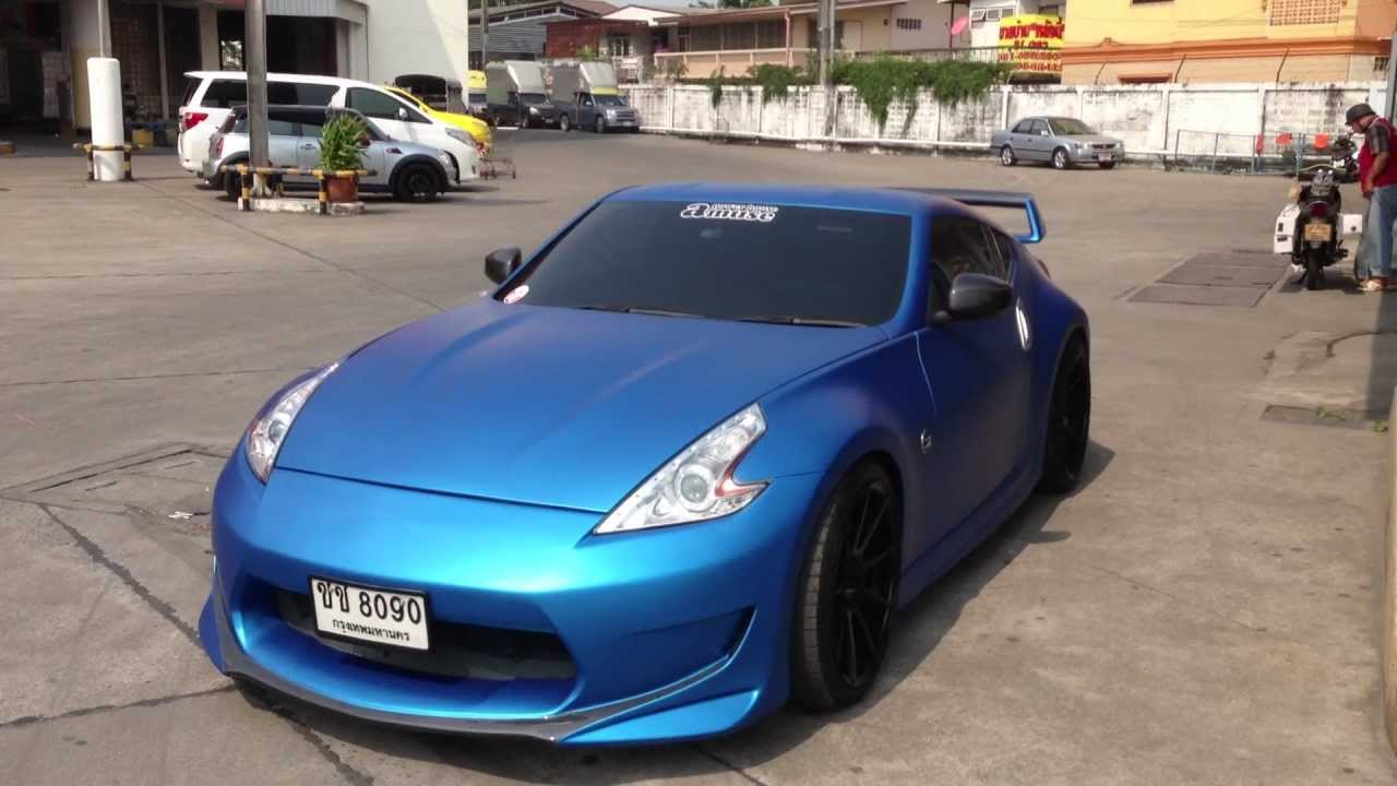 Matt Blue Metallic 370z Www Tonywrap Com Youtube
