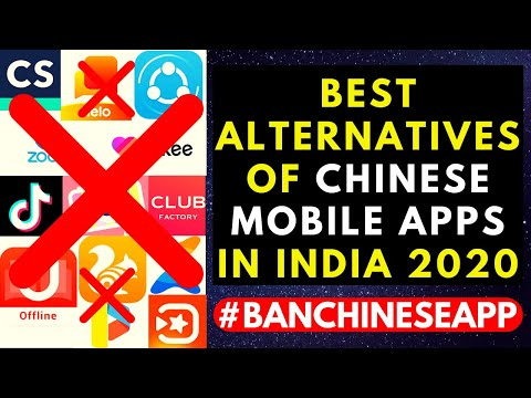 best-alternatives-of-chinese-mobile-apps-in-india-2020- -#banchineseapp