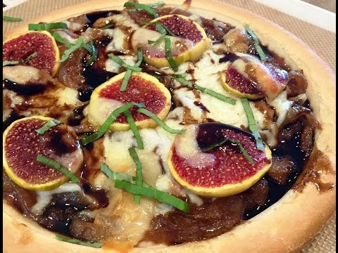 Caramelized Onion and Fig Flatbread Gluten Free
