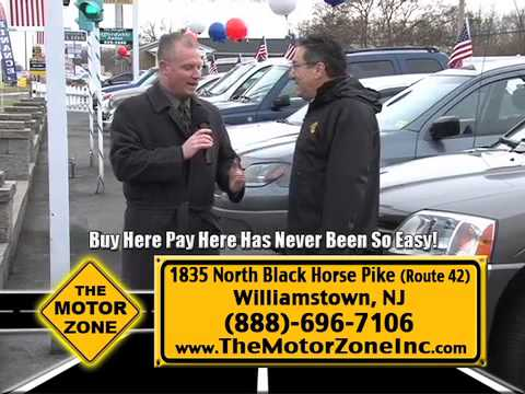 """Match Your Down Payment Up To $1000"" Motor Zone, Williamstown NJ"