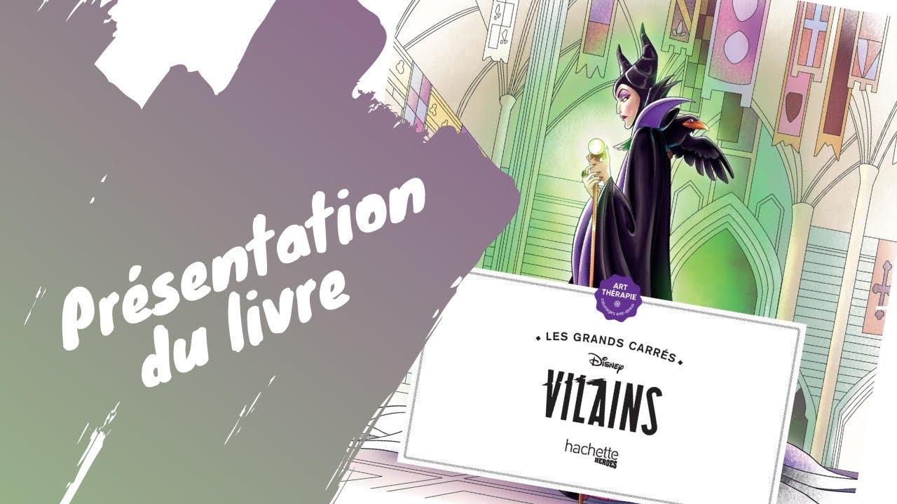 Vilains Disney - coloriages - Hachette Heroes