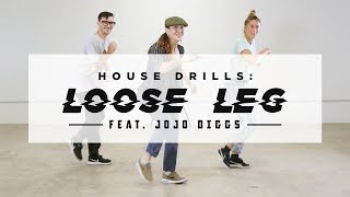 How To Do The Loose Leg (2,3,4 Step Variations) Ft. Jojo Diggs | Dance Tutorials | STEEZY.CO