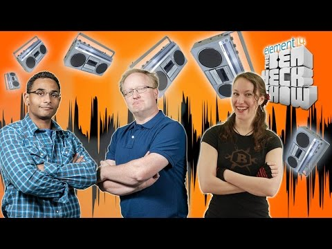 Ben Heck's Smart Retro Boombox with Intel Edison
