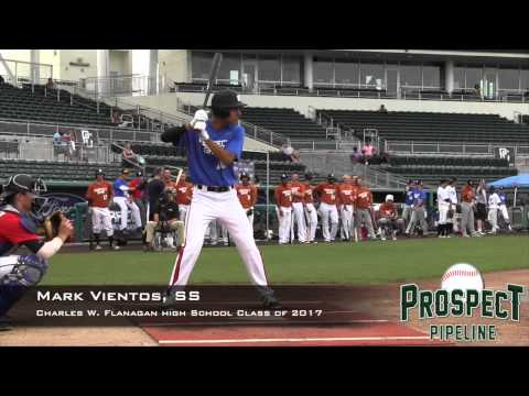 Mark Vientos Prospect Video, SS, Charles W Flanagan High School Class of 2017