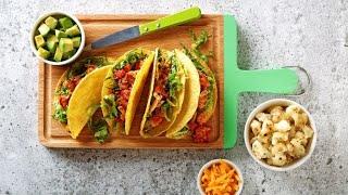 Cauliflower tacos / Tacos de chou-fleur