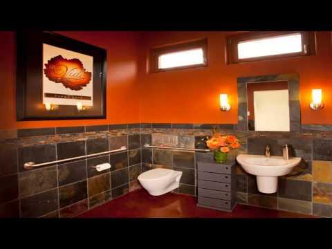 Top Most Brilliant ORANGE Bathroom Ideas You Never Knew