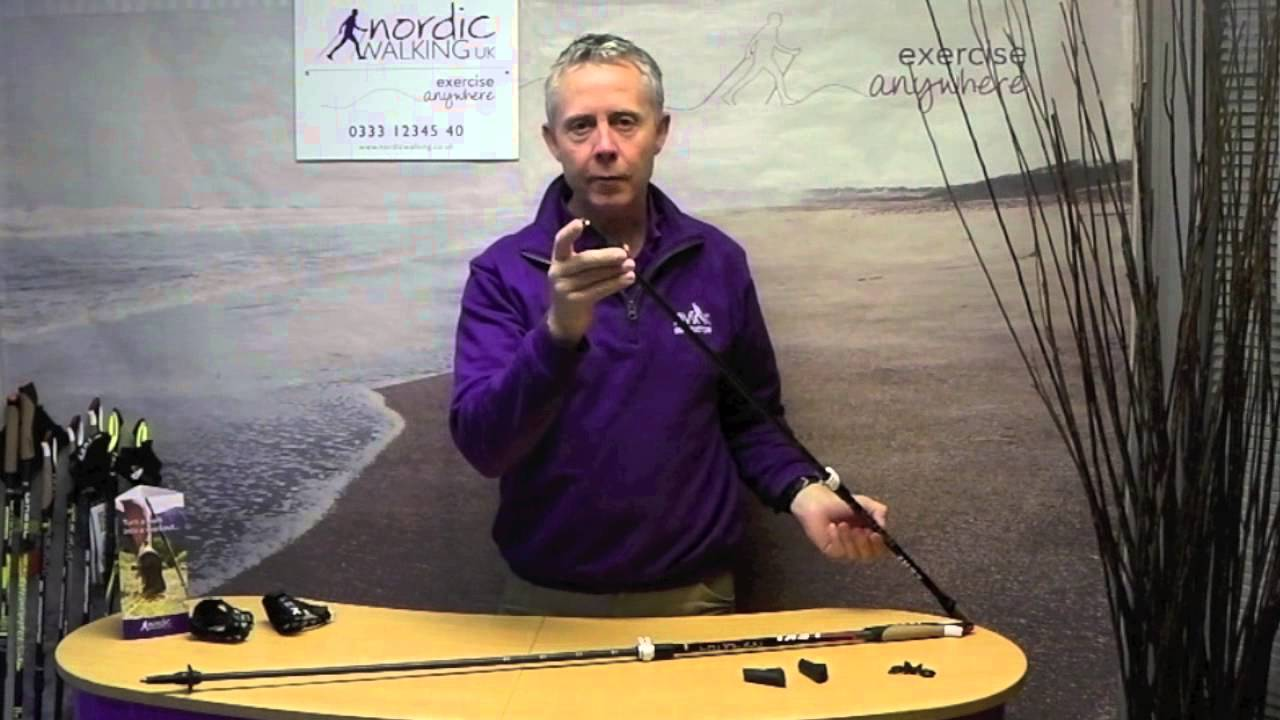 b038f008ceb Leki Instructor Poles - Nordic Walking UK - YouTube