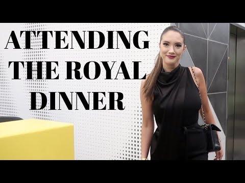 ATTENDING THE ROYAL DINNER! Day 17 | Blair Fowler