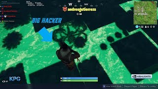 my fortnite game was hacked hacker got 58 kills