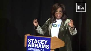 Oprah Winfrey, Stacey Abrams host town hall in Georgia ahead of midterm elections