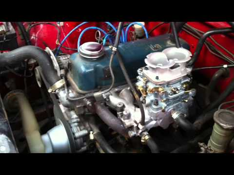 NISSAN A15 - 40/40 VERTICAL CARB