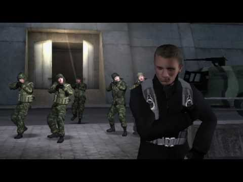 Trailer - GOLDENEYE 007 Behind the Scene Ben Cooke Stunt Video for DS and Wii