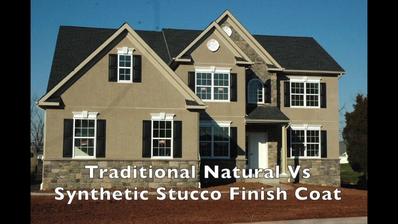 Stucco Natural And Synthetic