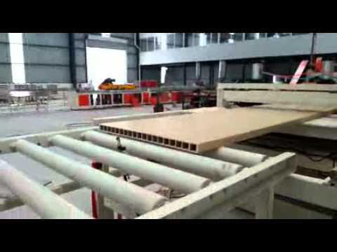 Wood Plastic Door Production Line Pvc Door Production Line