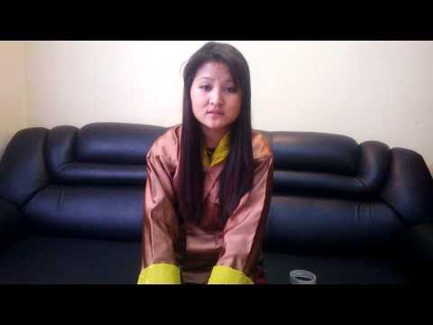 Video interview Kinley yangden