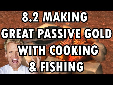 WoW BfA 8.2.0 Cooking & Fishing Guide: Consistent Passive Gold-Making