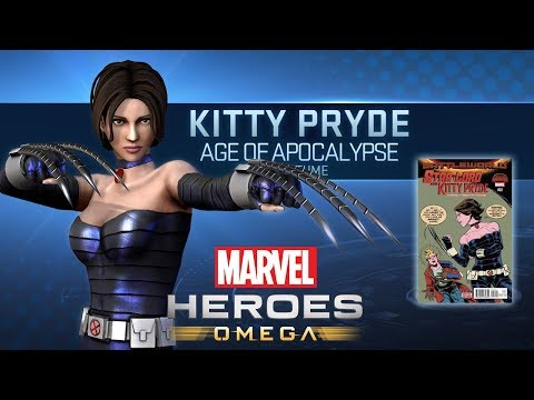 Marvel Heroes Omega KITTY PRYDE Age Of Apocalypse Mighty Women Costume Live Stream (Playstation 4)