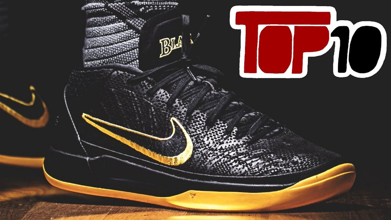 289f95155b6 Top 10 Nike Kobe A D Mid Shoes Of 2018 - YouTube