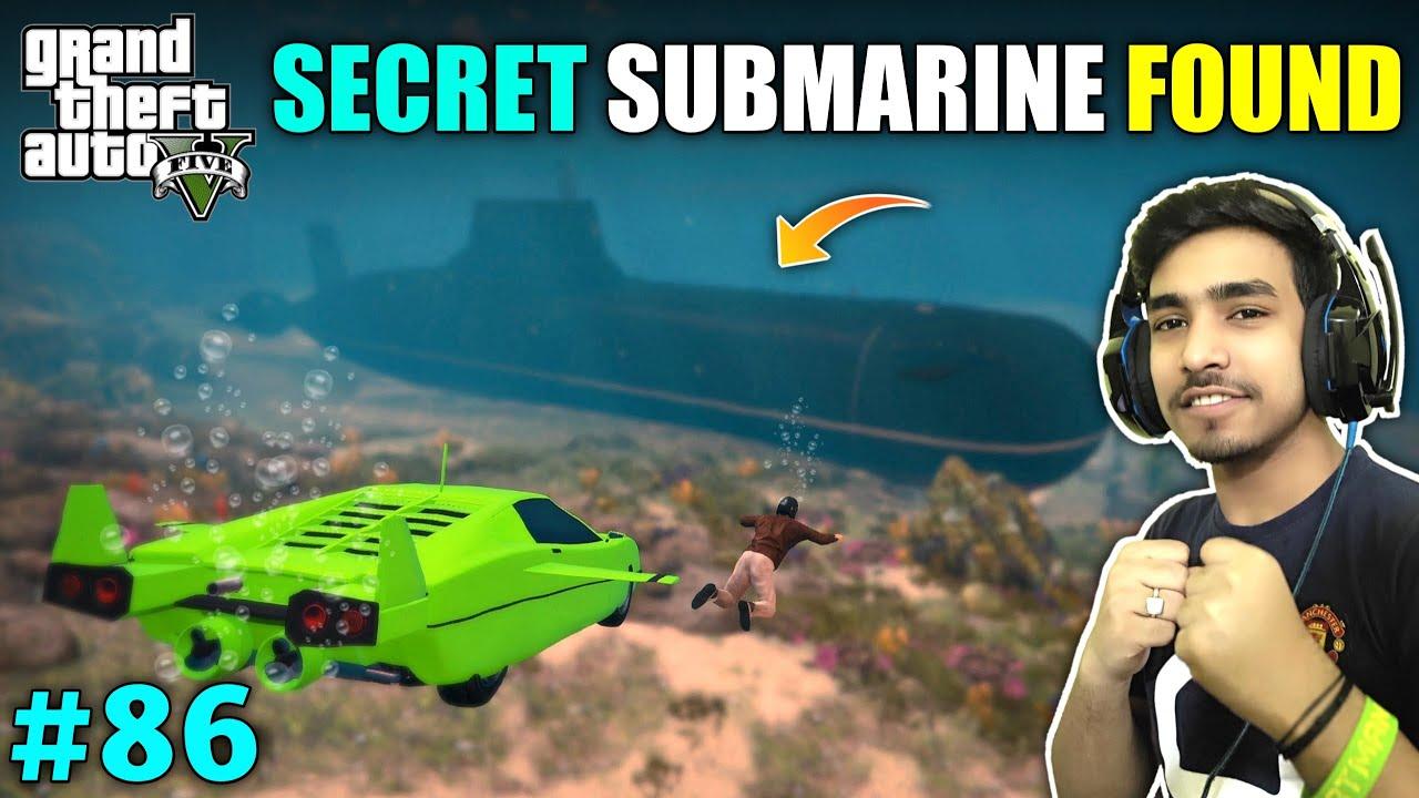 Download I STOLE UNDERWATER CAR TO FIND SUBMARINE   GTA V GAMEPLAY #86