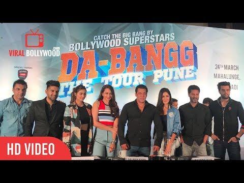 Da-Bangg The Tour Pune FULL VIDEO | Salman Khan, Katrina Kaif, Sonakshi, Sohail, Manish Paul