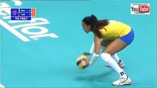 Brazil vs Turkey - SEMIFINAL VNL 2018 W - Full Match Highlights - HD