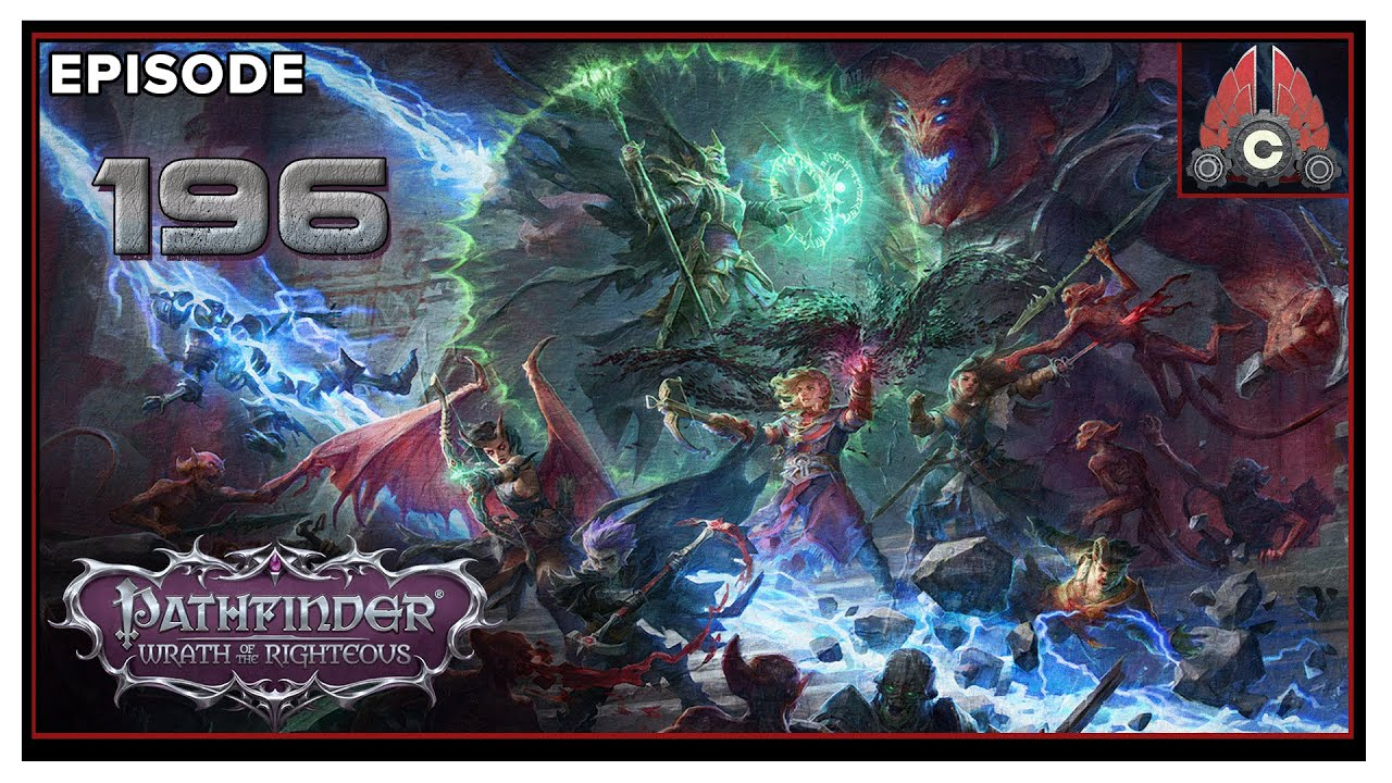 CohhCarnage Plays Pathfinder: Wrath Of The Righteous (Aasimar Deliverer/Hard) - Episode 196