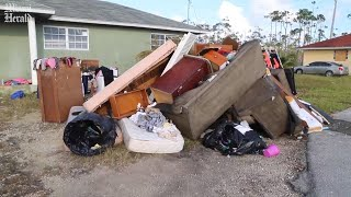 Residents of Grand Bahama recount their survival stories during Hurricane Dorian