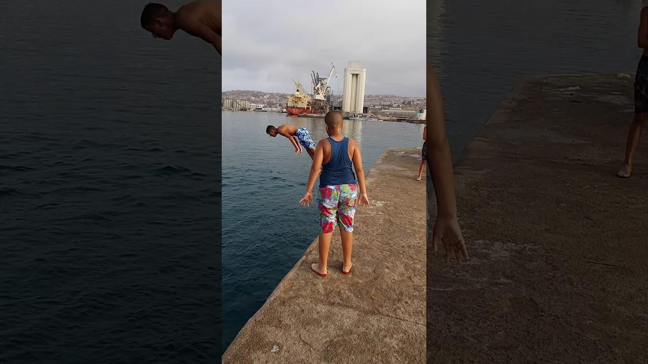 Concours de plonge à ghazaouet