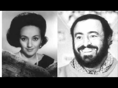 """Luciano Pavarotti-Act I-""""A te, o cara...""""-I Puritani, Vincenzo Bellini"""