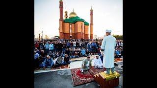 Курбан-байрам в новосибирской мечети на улице Мира