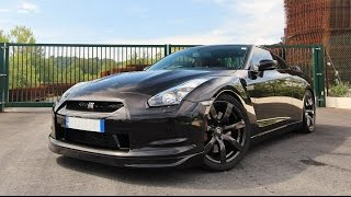 700HP Nissan GT-R Monstaka INSANE Ride! Straight Pipes, Full Throttle!