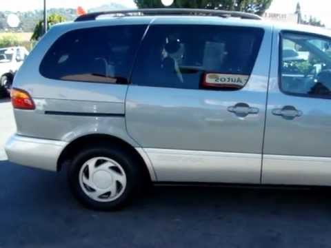 One Owner 2000 Toyota Sienna Used Cars Under 7000 In San Diego