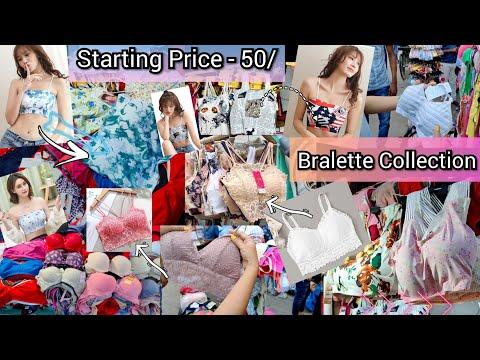 New Market Trendy Bra / Lingerie Collection😍Bralette /push up bra / inner wear /undergarments /panty