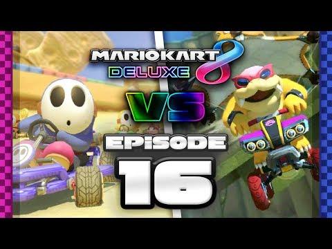 ANIME DEBATES Mario Kart 8 Deluxe Online Team Races - Ep 16 w/ TheKingNappy + Friends!