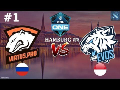 видео: ТЕЧИС от ВП! | virtus.pro vs evos #1 (bo2) | esl one hamburg 2018
