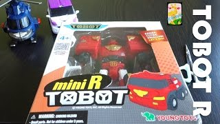 TOBOT R Kids Toy Show - Tobot mini series Rescue Best $10 Young Toys
