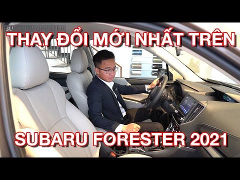 Thay đổi mới nhất trên Subaru Forester 2021   Nội thất trẻ trung hơn?