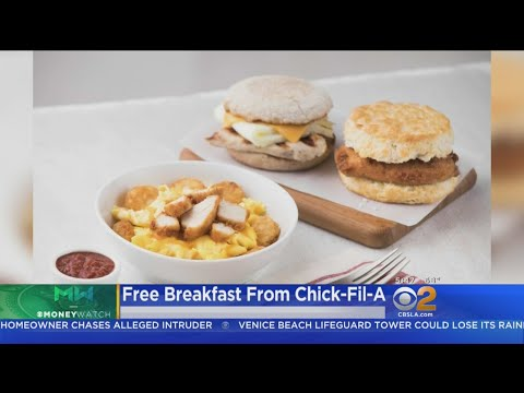 Chick-fil-A Offers Free Breakfast This Month