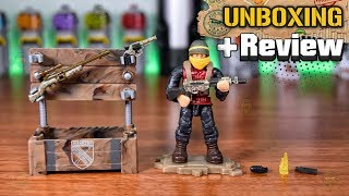 WW2  Weapons Crate | Call of Duty | Unboxing & Review | Mega Construx