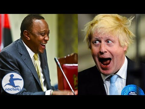 Kenyan President Humiliates Boris Johnson Publicly Calls Him Bicycle Guy