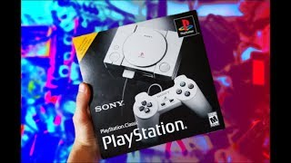 PLAYSTATION CLASSIC UNBOXING