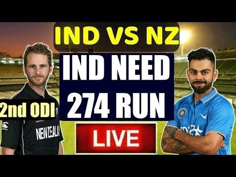 india-vs-new-zealand-:-2nd-odi-live-cricket-|-cricket-highlights-|-ind-vs-nz-score