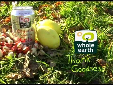 Whole Earth Organic Sparkling Cola Advert