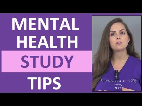 How to Study for Mental Health Nursing in Nursing School