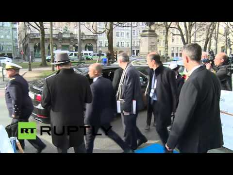 LIVE: Participants arrive for Munich Security Conference