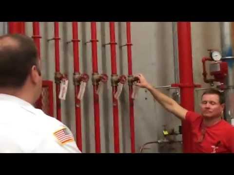 Inspections: Sprinkler Water Flow Testing