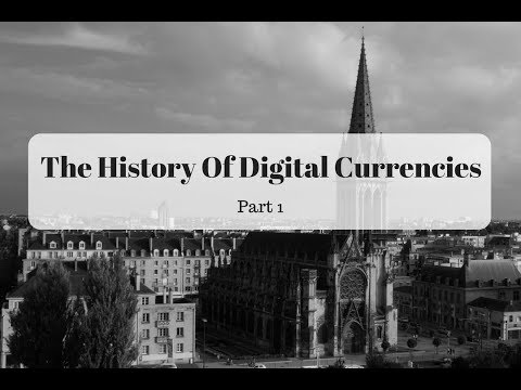 The History Of Digital Currency - Part 1