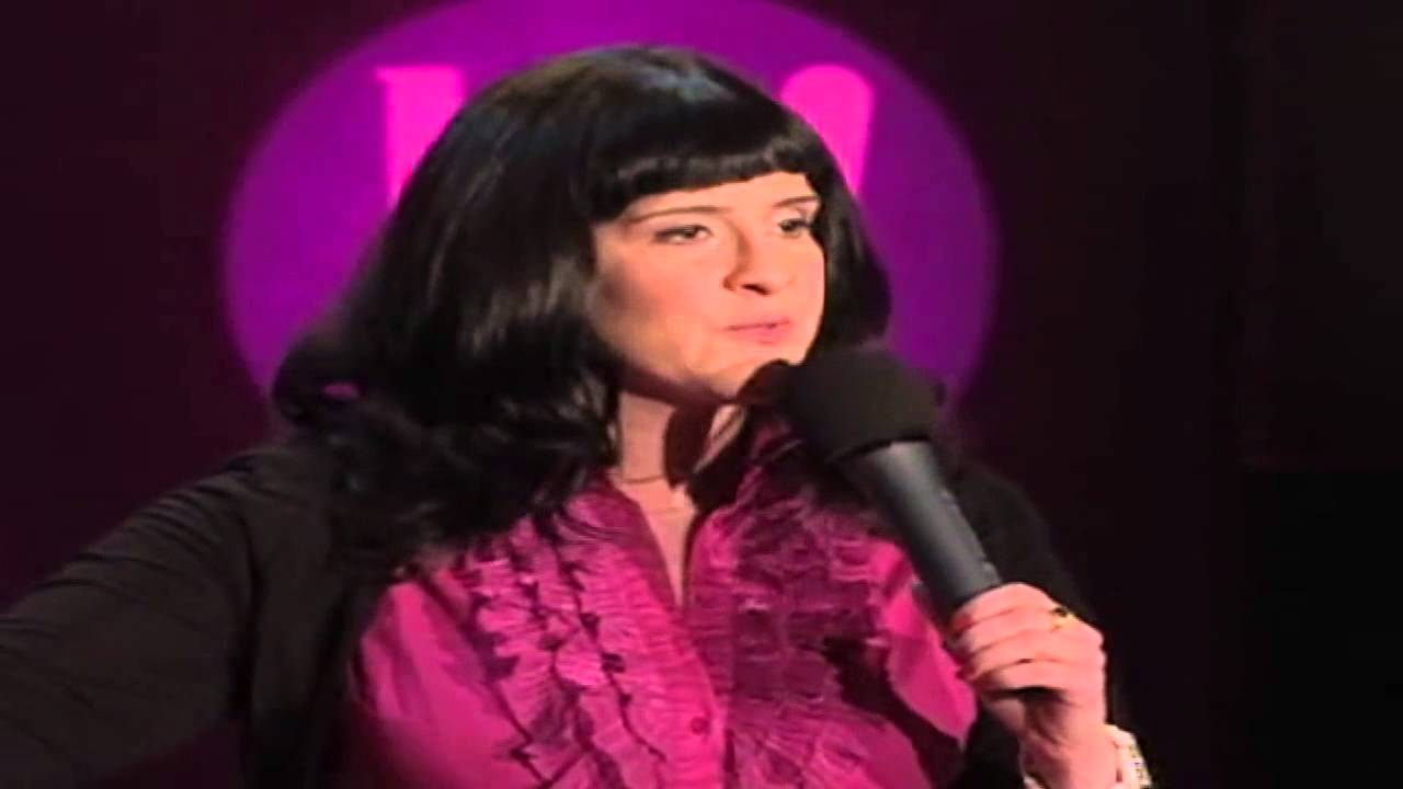 Allyson June Smith performs at Halifax Comedy Festival