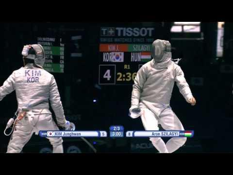 Moscow 2015 MS GP T08 04 red Szilagyi A HUN vs Kim J KOR